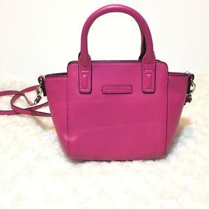 Vera Bradley Mini Crossbody Satchel Hot Pink